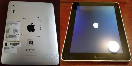 Apple iPad prototyp
