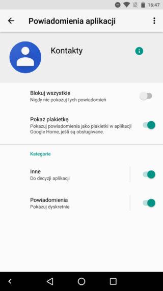 Kontakty Google 2.0