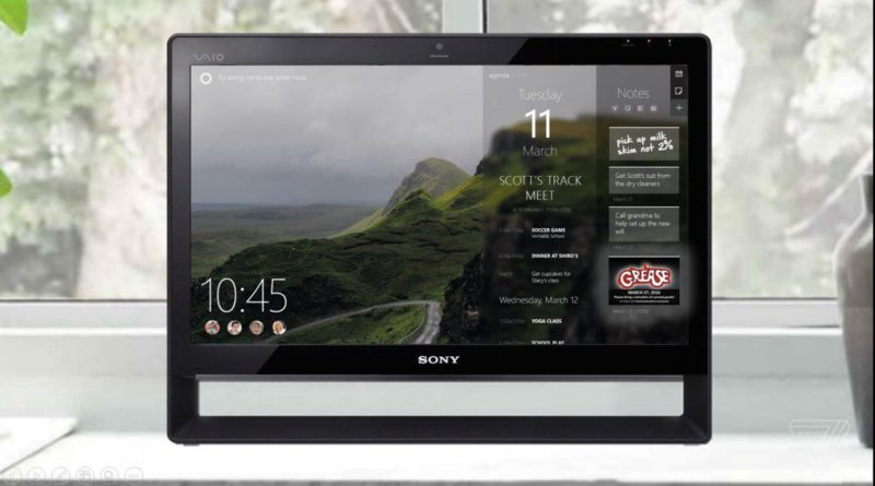 Microsoft HomeHub Windows 10 Amazon Echo Show