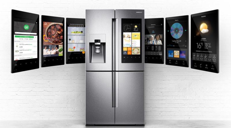 Samsung Family Hub 2.0 bixby lodówki