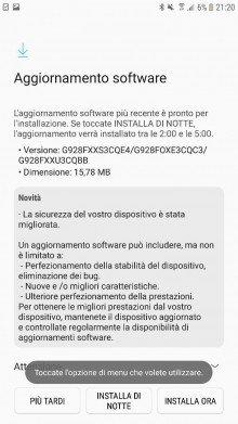 Samsung Galaxy S6 edge Plus majowe poprawki bezpiueczeństwa aktualizacja OTA