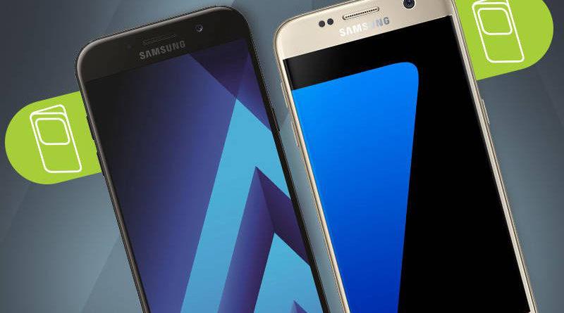 Samsung Galaxy S7 Samsung Galaxy A5 (2017) promocja