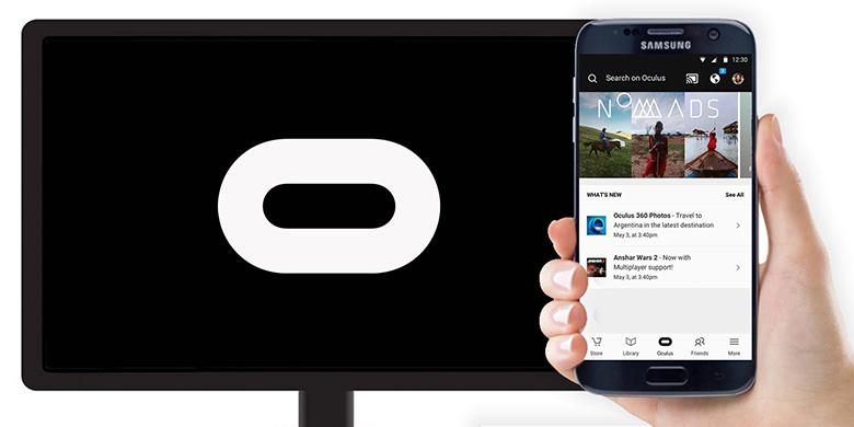 Samsung Gear VR Oculus Chromecast