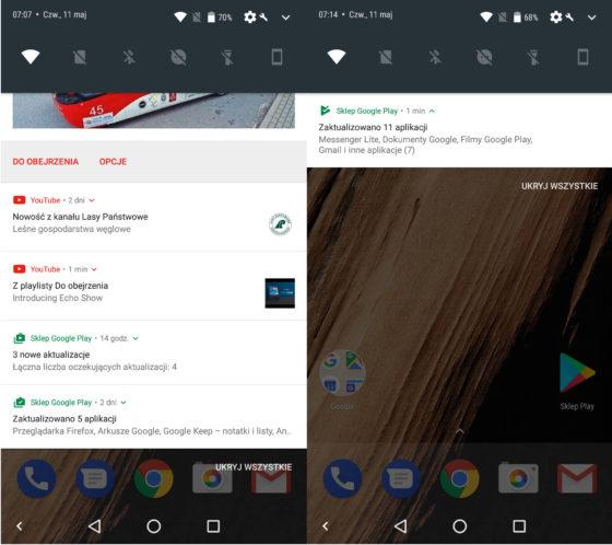 Sklep Play Google Android nowa ikona