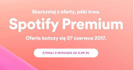 Spotify Premium promocja