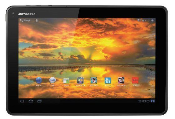 Motorola Moto Xoom tablet