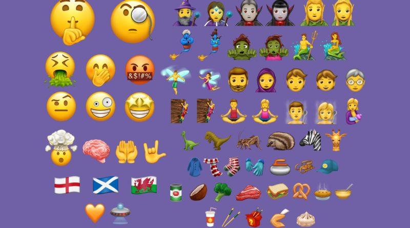emoji Unicode 10 Apple iOS 11