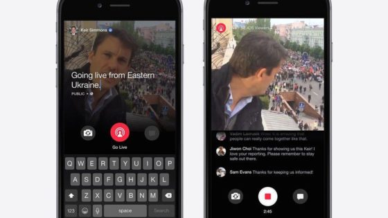 facebook mentions wideo
