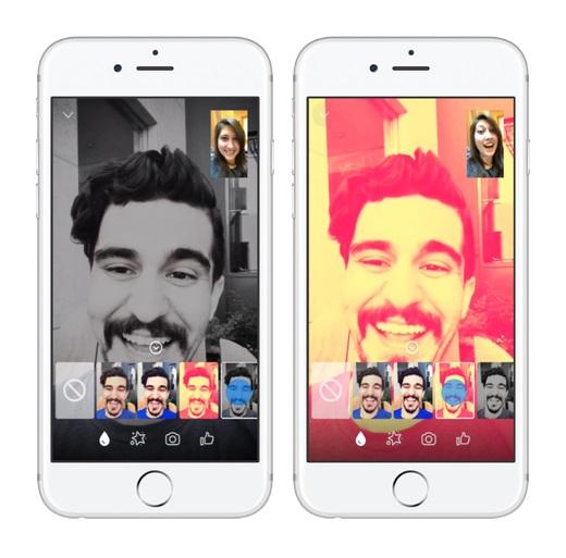 facebook messenger filtry