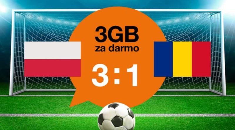 Orange 3GB internetu za darmo