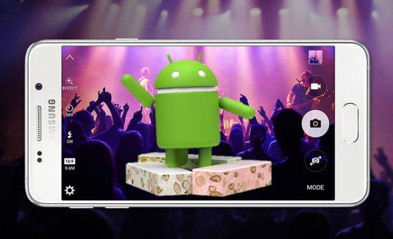 Samsung Galaxy A3 (2016) aktualizacja OTA Android 7.0 Nougat
