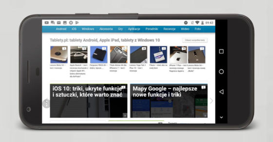 Przeglądarka Samsung Internet browser