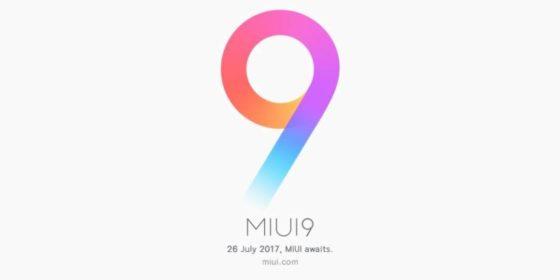 Xiaomi MIUI 9 beta