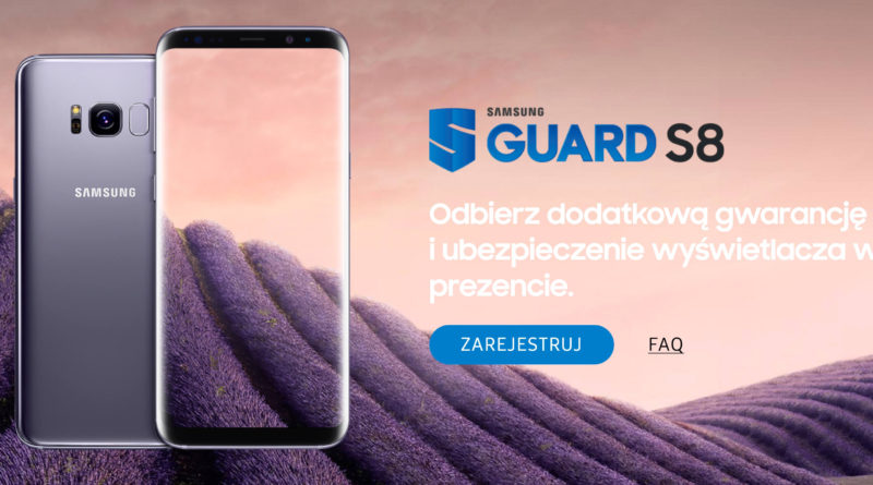 Samsung Galaxy S8 promocja Guard S8