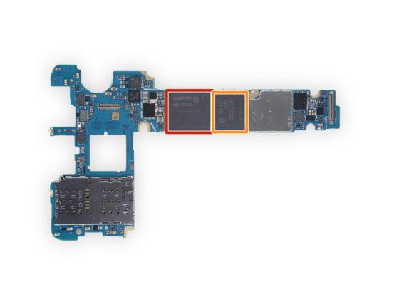 Samsung Galaxy Note Fan Edition iFixit