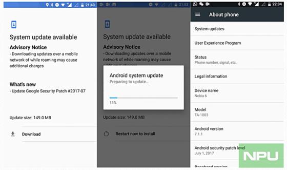 Nokia 6 lipcowe poprawki bezpieczeństwa Android Google Pixel