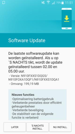 Samsung Galaxy Note 4 lipcowe poprawki bezpieczeństwa