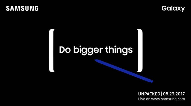 Samsung Galaxy Note 8 Unpacked