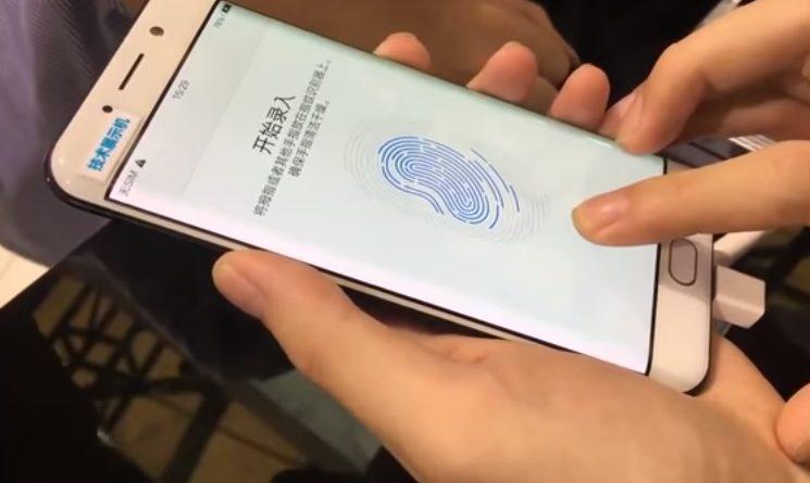 vivo iphone 8 czytnik linii papilarnych