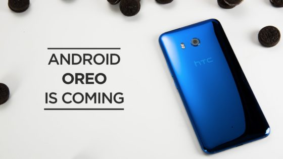 HTC U11 Android 8.0 Oreo