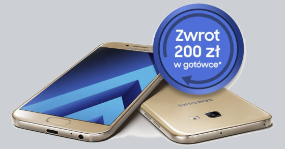 Samsung Galaxy A5 2017 promocja cashback