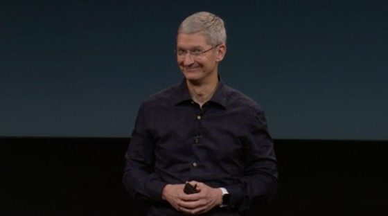 Tim Cook iPhone 8