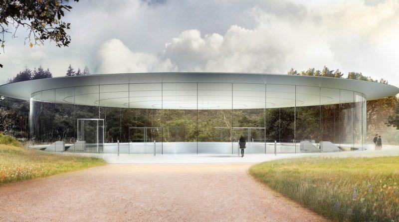 Apple park Steve Jobs Theater iPhone 8