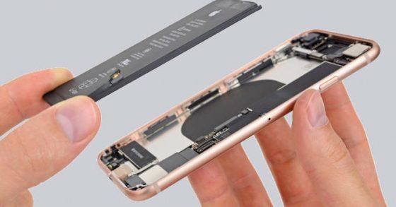 iPhone 8 naprawa iFixit