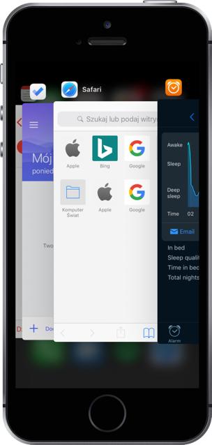 iOS 11 oszczędzanie energii baterii