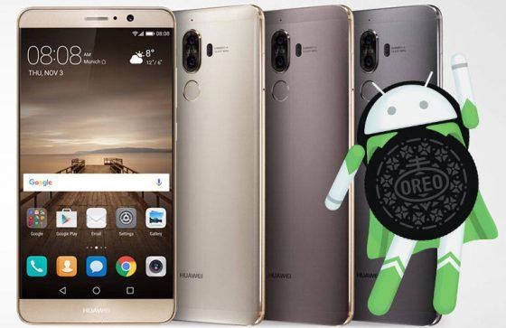Android 8.0 Oreo EMUI 8.0 Huawei Mate 9