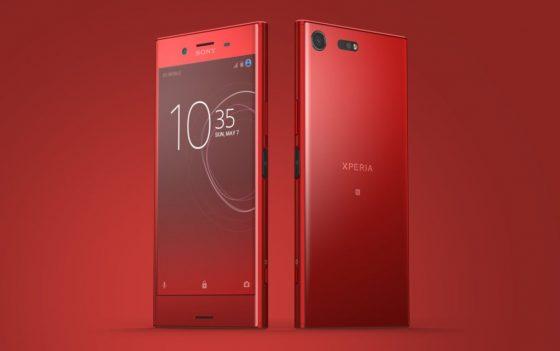 Sony Xperia XZ Premium Rosso Kultowa Czerwień