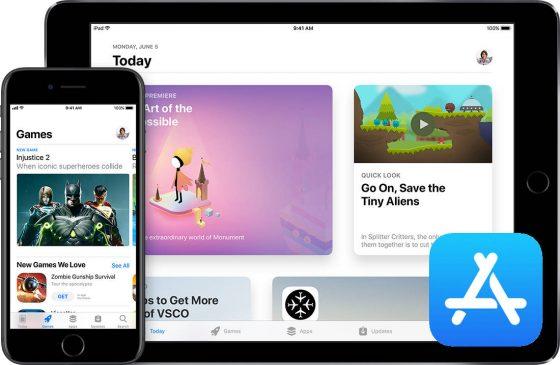 App Store Apple aplikacje i gry