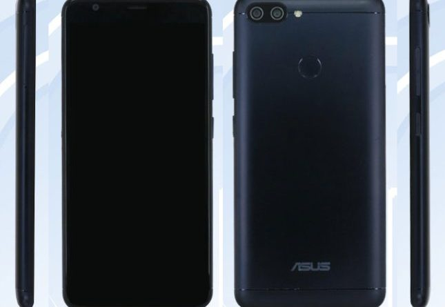 ASUS X018DC ZenFone TENAA