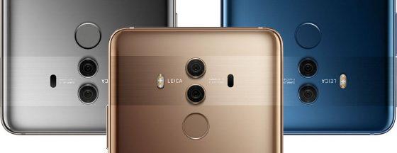 Huawei Mate 10 Pro aparat