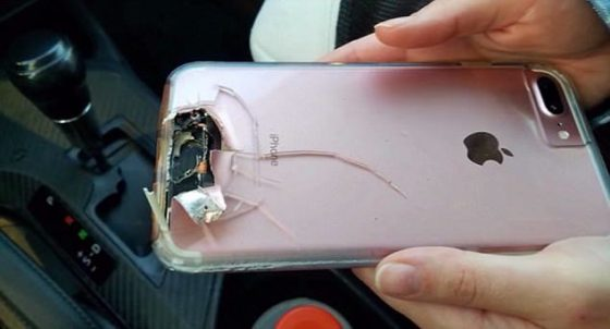 iPhone 7 Plus zamach Las Vegas
