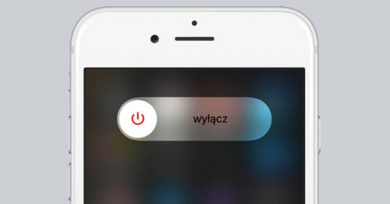 iOS 11 wyłączanie iPhone bez włącznika