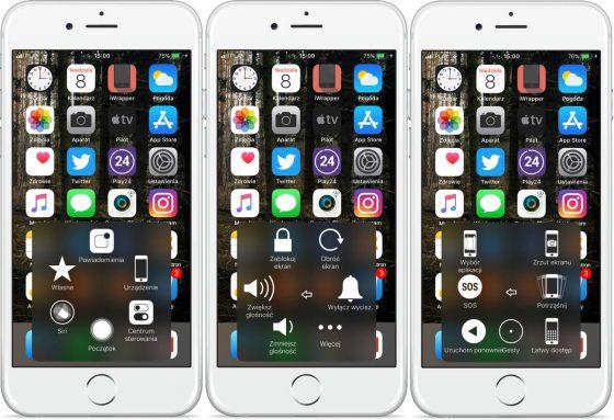 iOS 11 iPhone uszkodzony włącznik