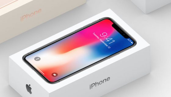 Apple iPhone X box
