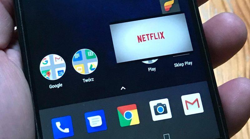 Netflix obraz w obrazie Android 8.1 Oreo