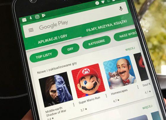 Google Androd Sklep Play promocje za darmo