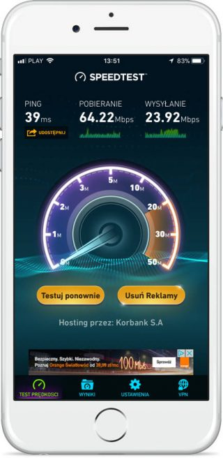 T-Mobile 1 Internet domowy opinie test recenzja