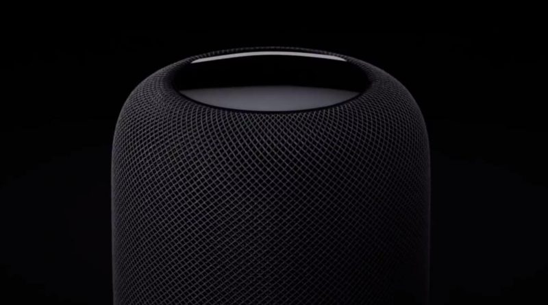 Apple HomePod AirPlay 2 Siri