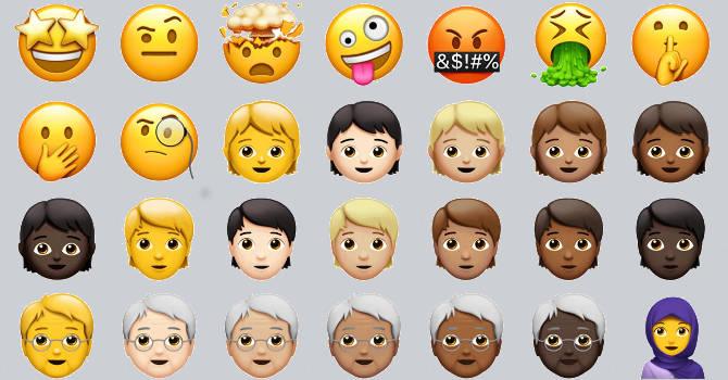 iOS 11.1 nowe emoji