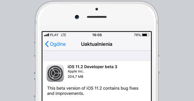 iOS 11.2 beta 3 Apple macOS 10.13.2 watchOS 4.2 tvOS 11.2