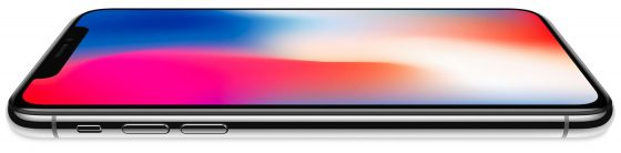 iPhone X ekran OLED Super Retina HD wyniki Apple