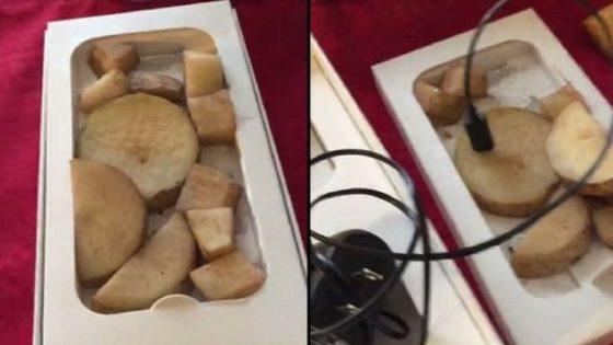 iPhone 6 ziemniaki