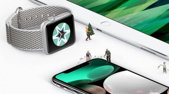 iPhone X Apple Watch series 3