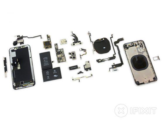 iPhone X naprawa iFixit