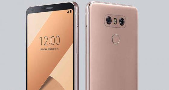 LG G6 gold złoty