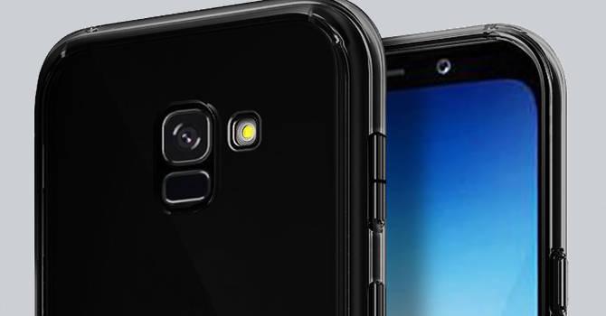 Samsung Galaxy A8 (2018) etui Olixar